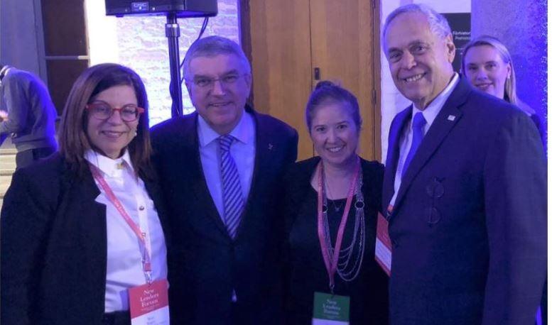 נציגי ישראל בפורום מנהיגים חדשים