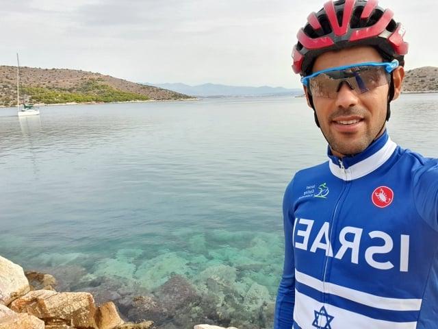רוכב אופני ההרים שלומי חיימי