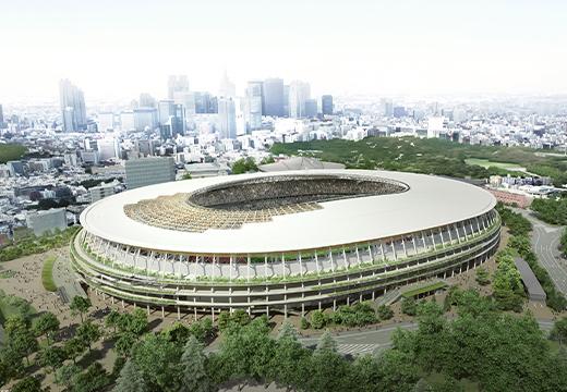 האיצטדיון האולימפי בטוקיו 2020
