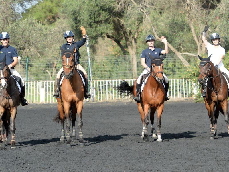 נבחרת ישראל ברכיבה על סוסים לטוקיו 2020