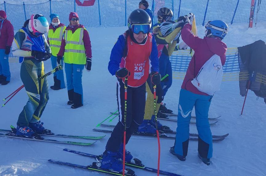 גולשת הסקי הצעירה מריה צ'רבקובסיה