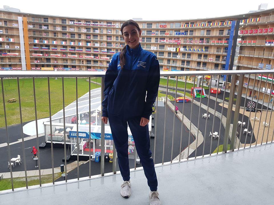 גולשת הסקי הצעירה מריה צ'רבקובסקיה