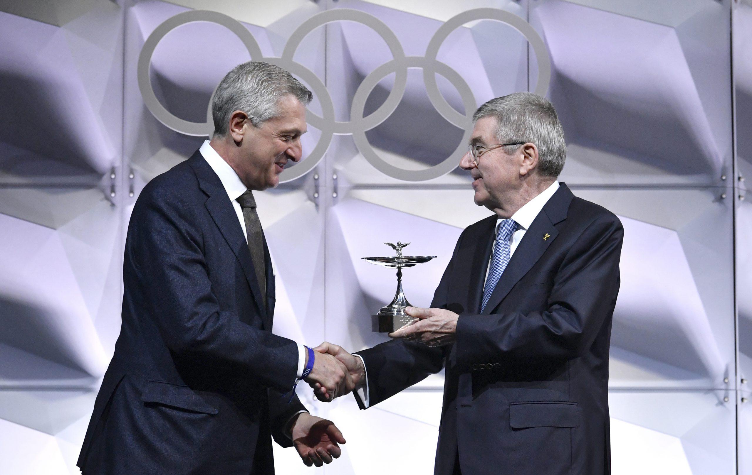 טקס ענקת הגביע האולימפי 2019