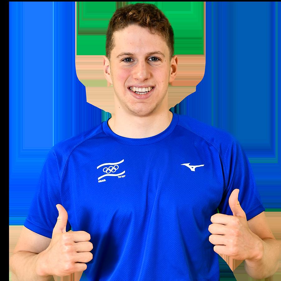 רון פולונסקי : שחייה