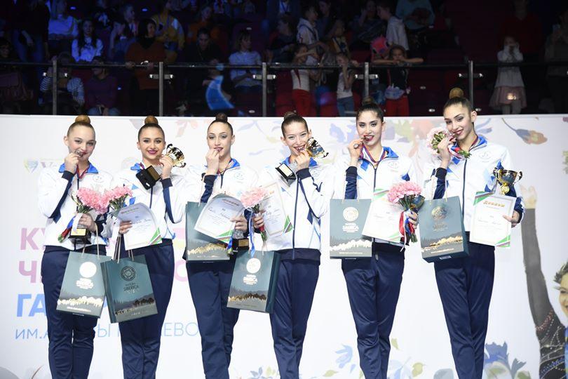 התעמלות אמנותית נבחרת ישראל מדליית ארד במוסקבה