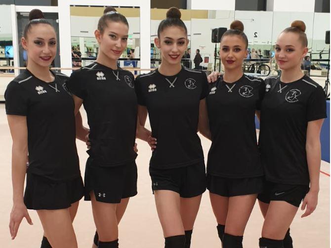 נבחרת ישראל התעמלות אמנותית 2020