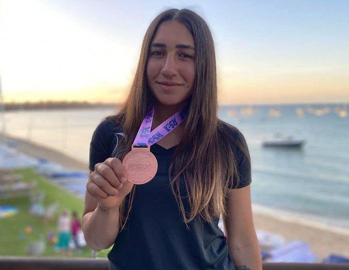 נוי דריהן מדליית ארד באליפות העולם