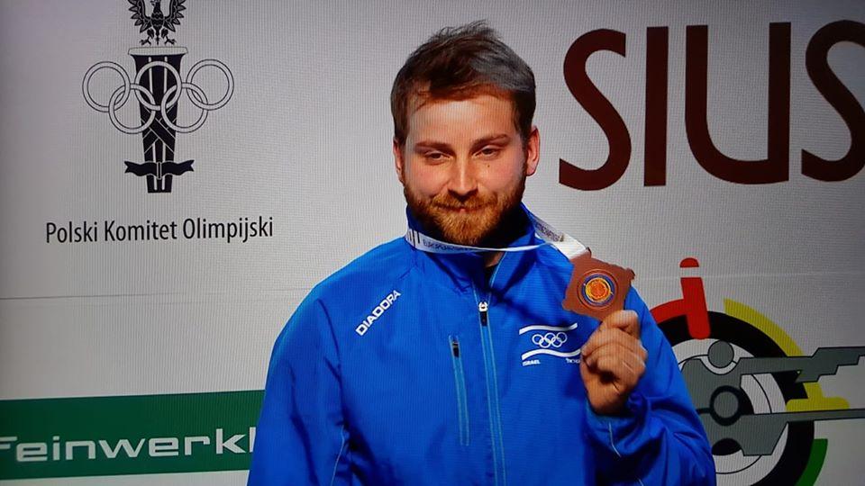 סרגיי ריכטר - מדליית ארד באליפות אירופה 2020