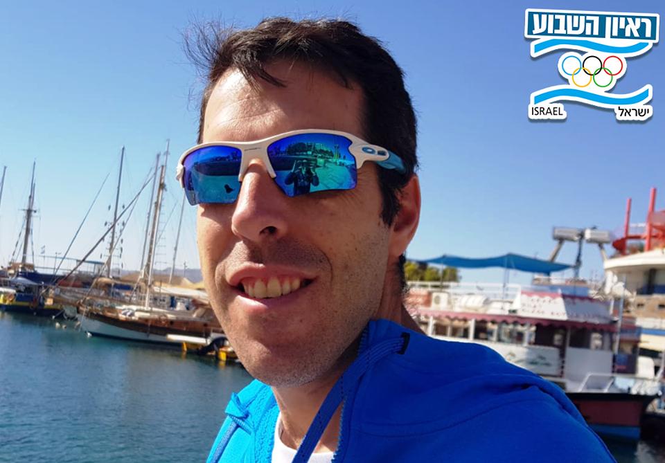 אורי זילברמן מאמן נבחרת ישראל בטריאתלון