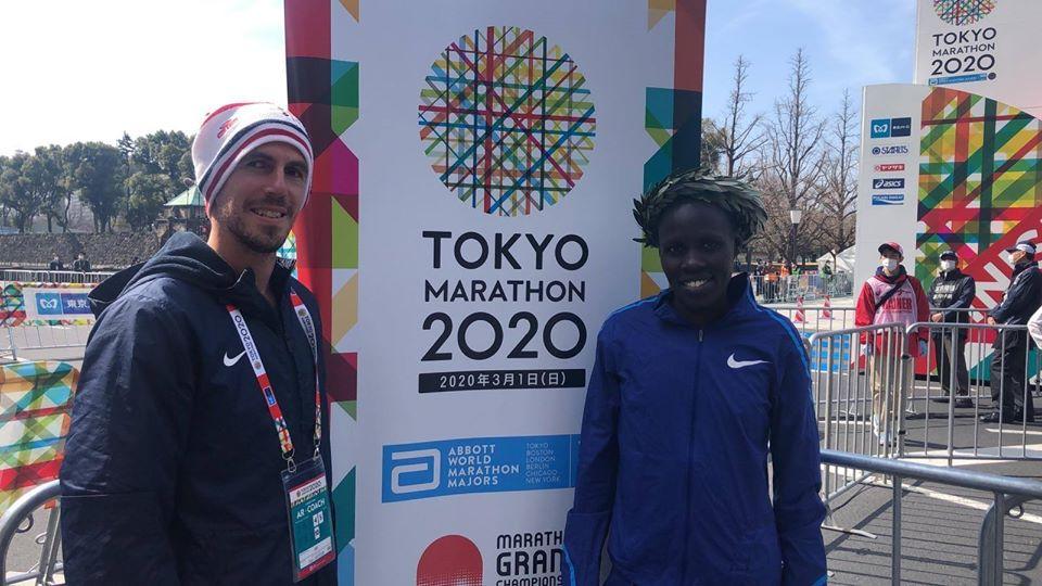 Chiara Davini - לונה צמטאי סלפטר אלופת מרתון טוקיו 2020