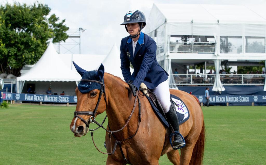 סידני שולמן - רכיבה על סוסים