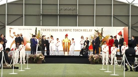 מירוץ הלפיד יוצא לדרך - טוקיו 2020