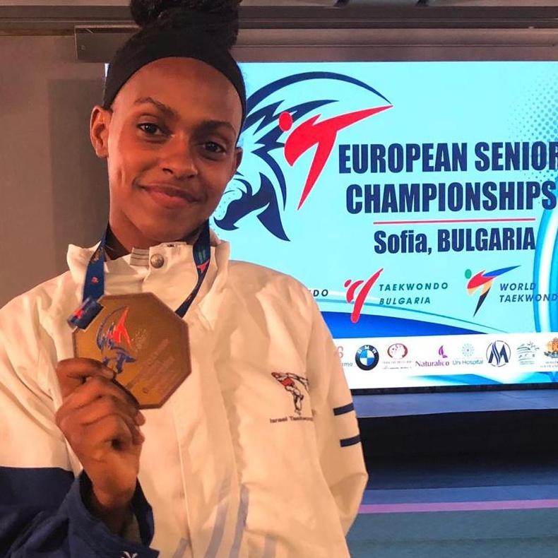 רבקה באייך - מדליית ארד באליפות אירופה טאקוונדו - 2021