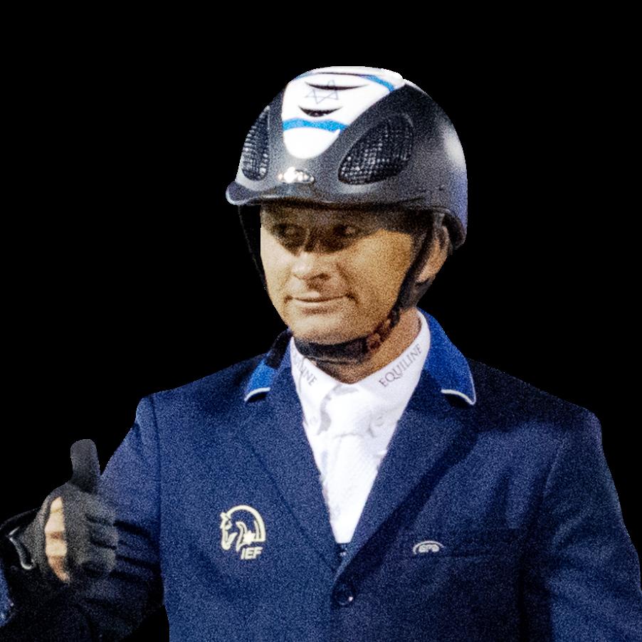 אלברטו משען : רכיבה על סוסים - קפיצות